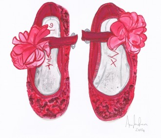 ALA- Tiny Toes - A Little Girl's First Party Shoes