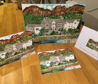 Eltermere Hotel Greetings Cards